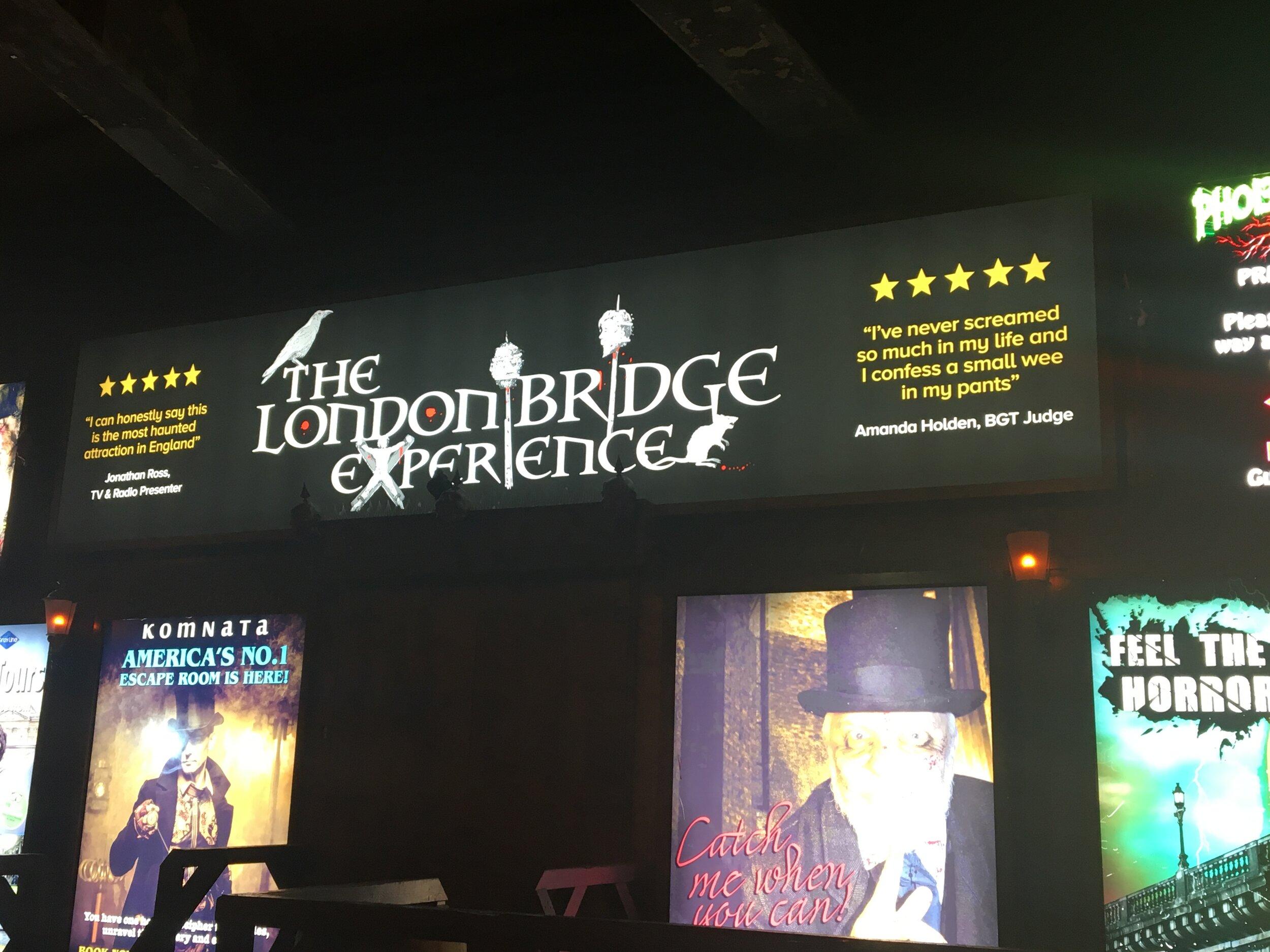 the london bridge experience south london club