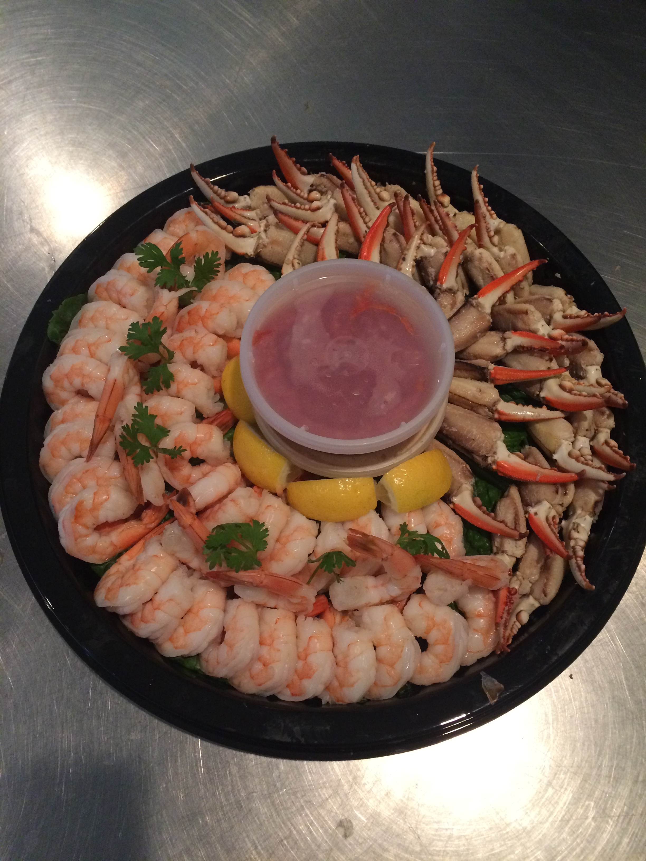 Seafood Party Trays -