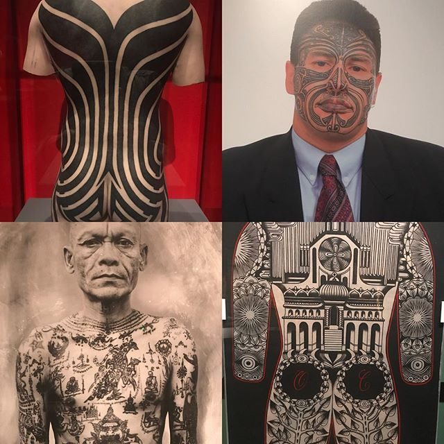Amazing images and multicultural history of tattooing. Highly recommend #naturalhistorymuseumoflosangeles #tattoo