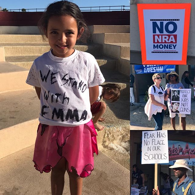 #marchforourlives #palmsprings #stopthenra