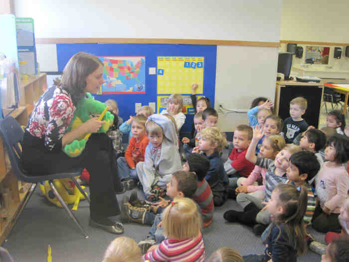 Dr. Geisler at Plymouth KinderCare