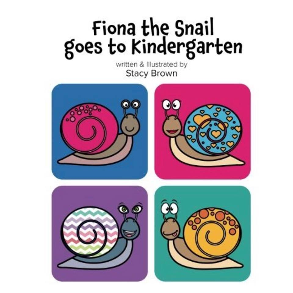 Fiona the Snail Goes to Kindergarten