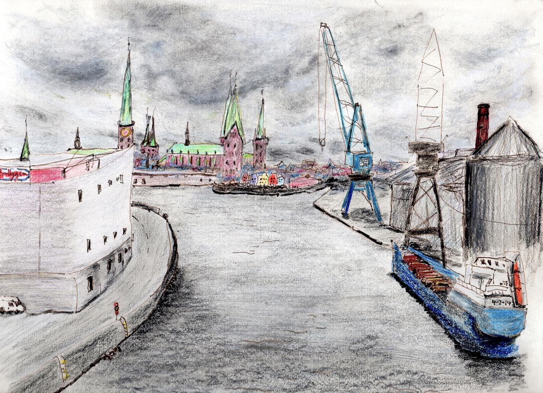 Lübeck Harbour