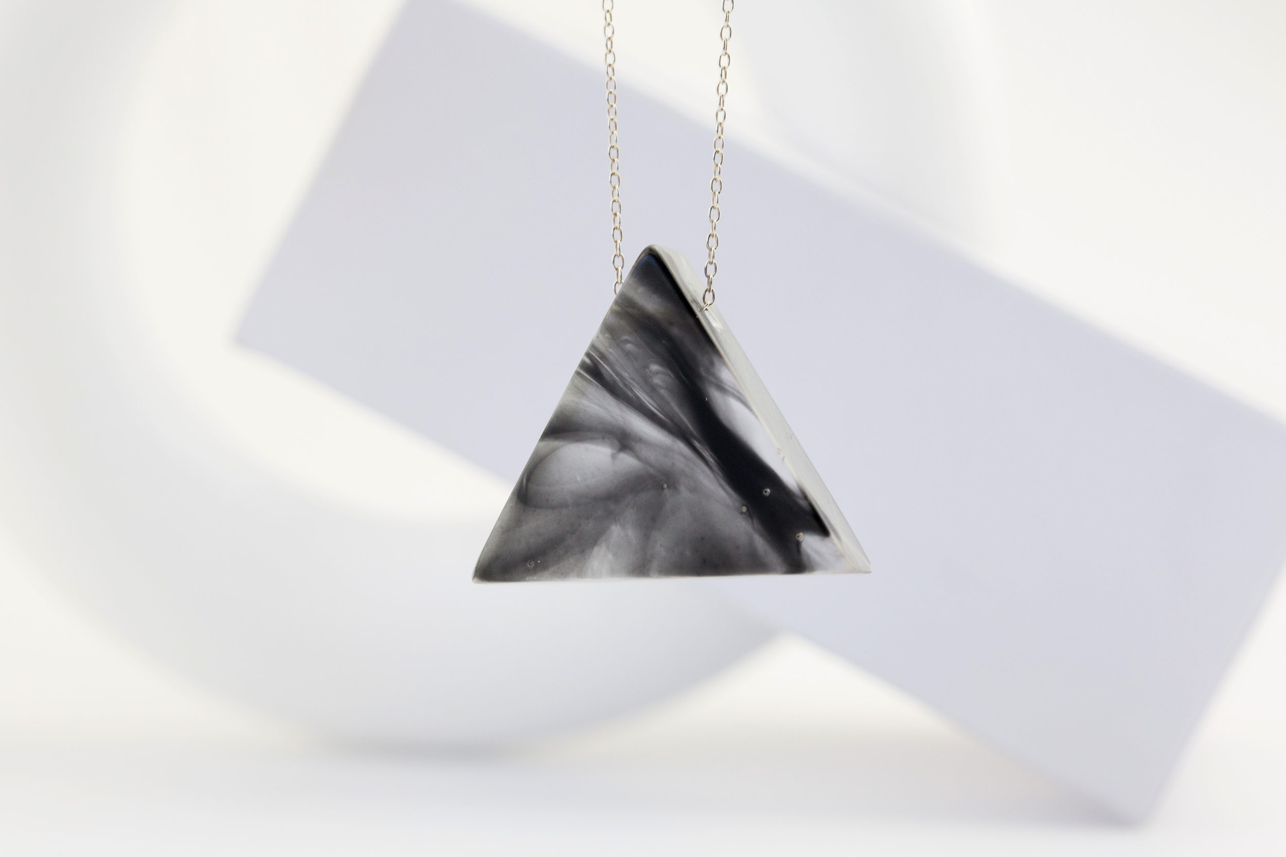 Jose Anglada Jewelry-Bauhaus-Necklace-Triangle