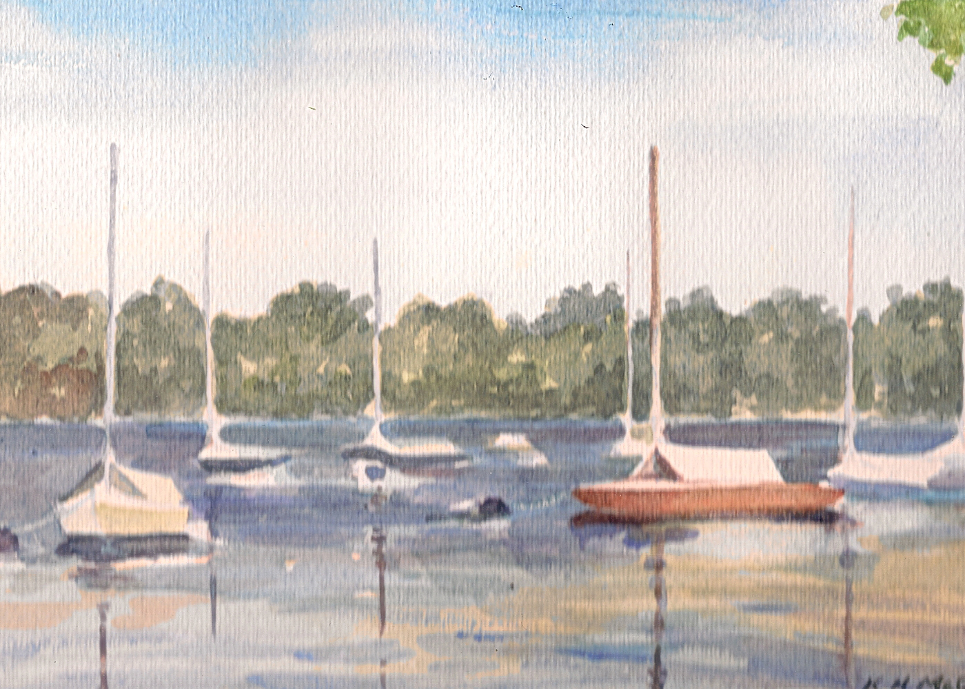 Boats Lake Harriet