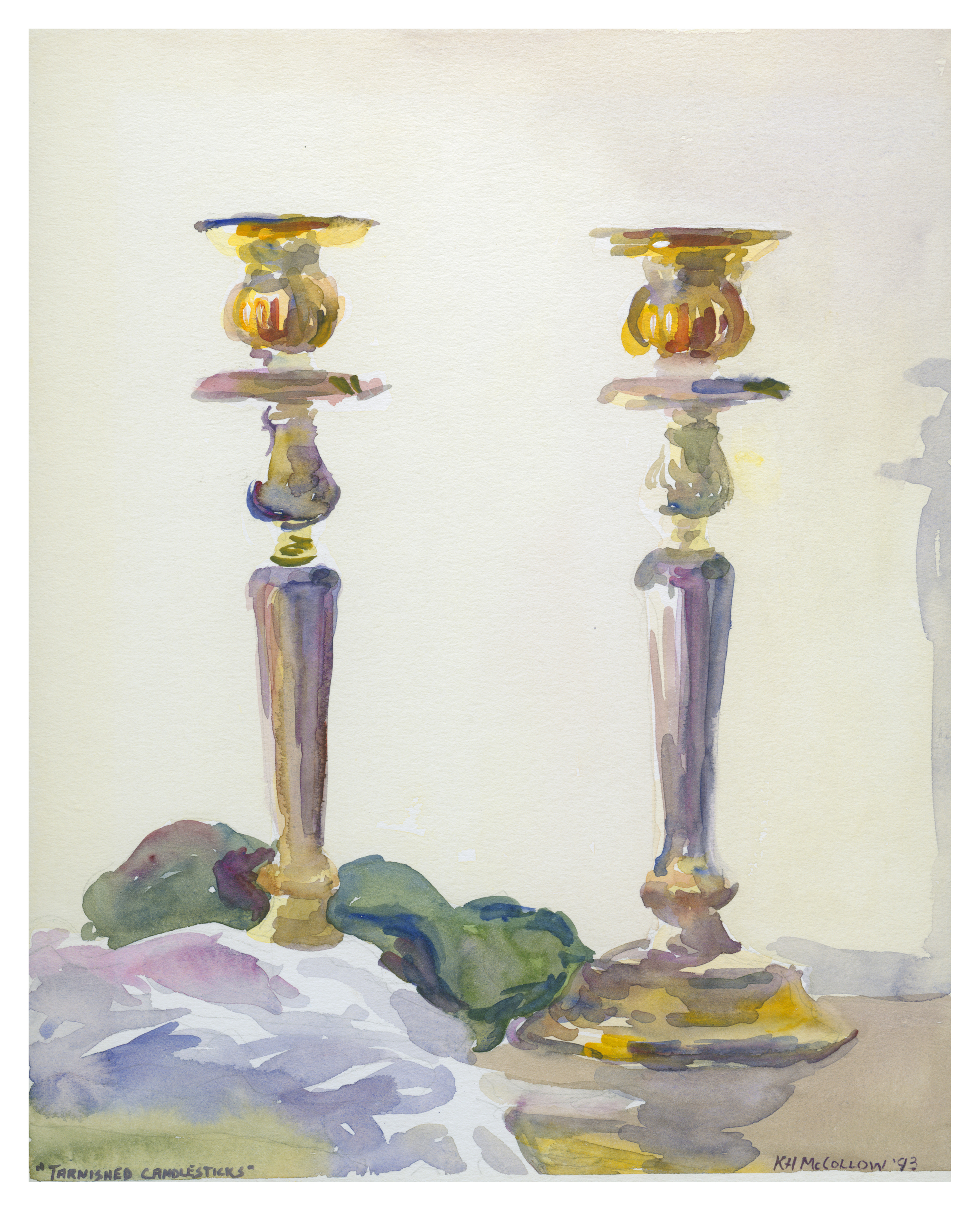 Tarnished Candlesticks