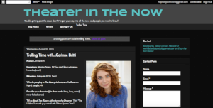 """Check out cast interviews with """"Trolling Time"""" on Theaterinthenow.com"""