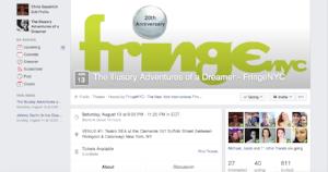 Official Fringe Facebook Event Page