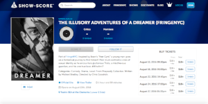 The Illusory Adventures of a Dreamer announced on Show-score.com (July 14, 2016)