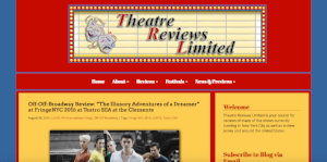 Review by Theatre Reviews Limited (August 28, 2016)