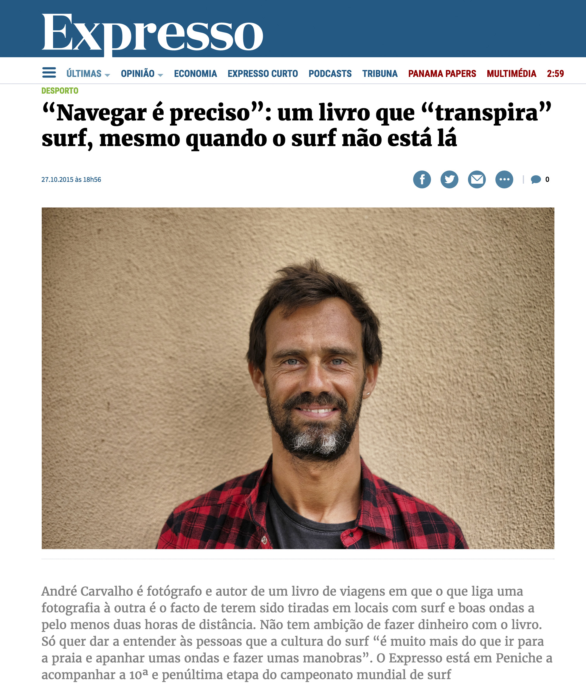 "Jornal ""Expresso"""