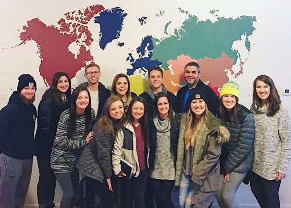 Our mission trip team in Nashville