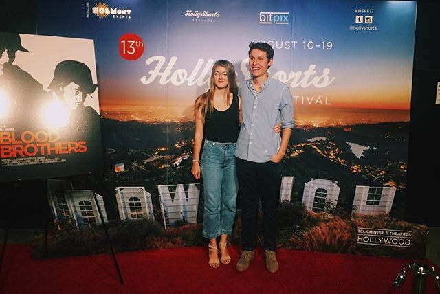 Director @maxchernov and producer @nicolefalsetti on the red carpet of @hollyshorts. Thanks to everyone who came out!