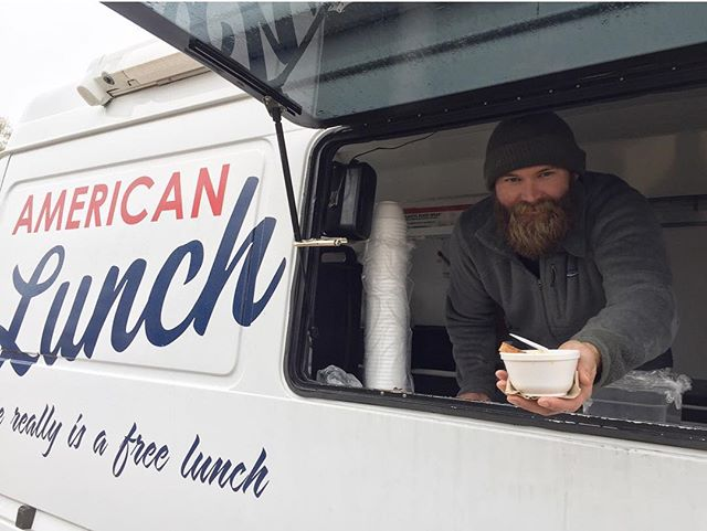A big thank you to Bert for joining us today for a special Christmas Eve edition of American Lunch!! #forthepeople #freelunch #soupwarmsthesoul #christmaspresents #seasonofgiving @fivechattanooga