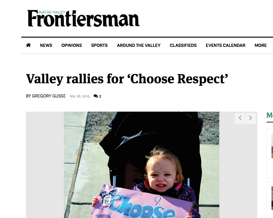 Valley Rallies for...   March 26, 2015