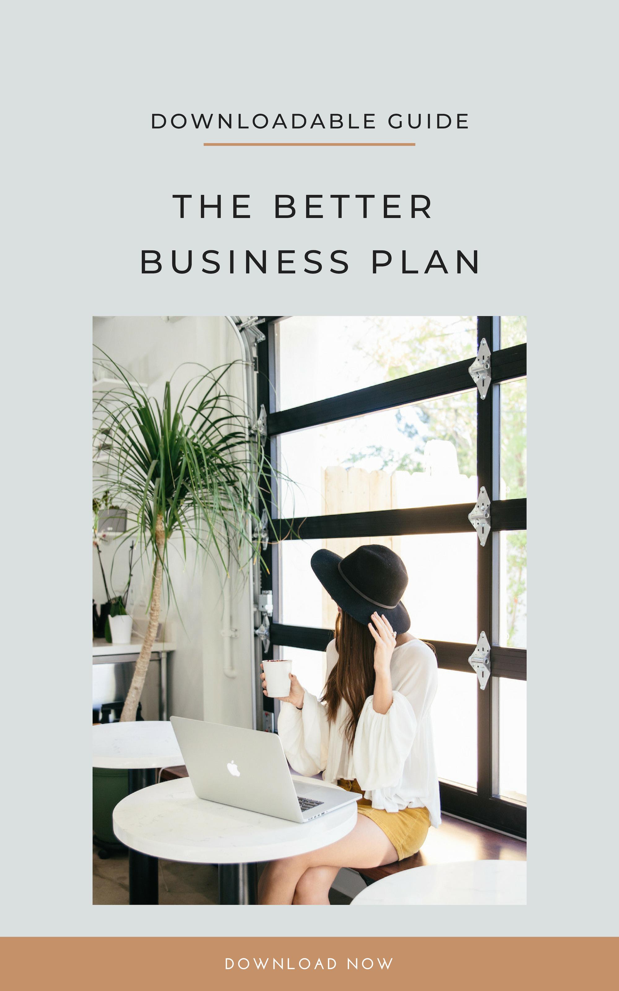 The Better Business Plan