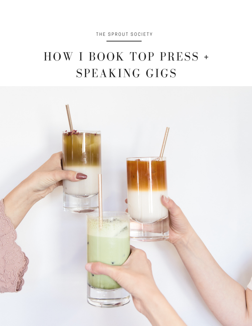 How I Book Top Press + Speaking