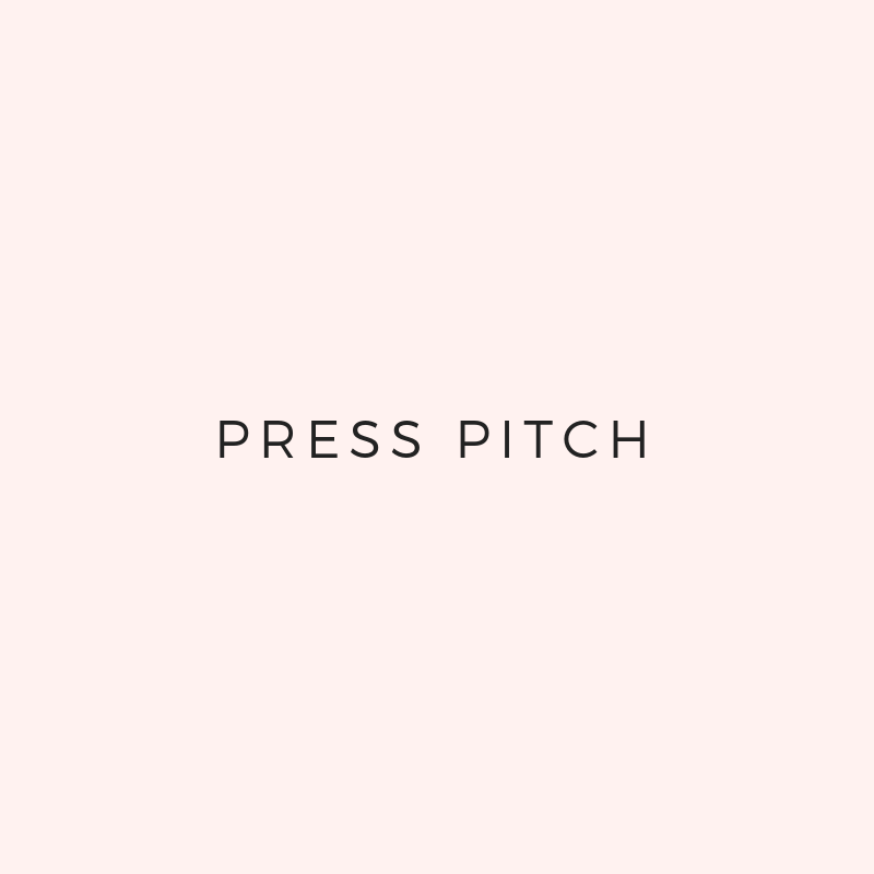 - We'll plan out your pitch scheduleWe'll write a press pitch