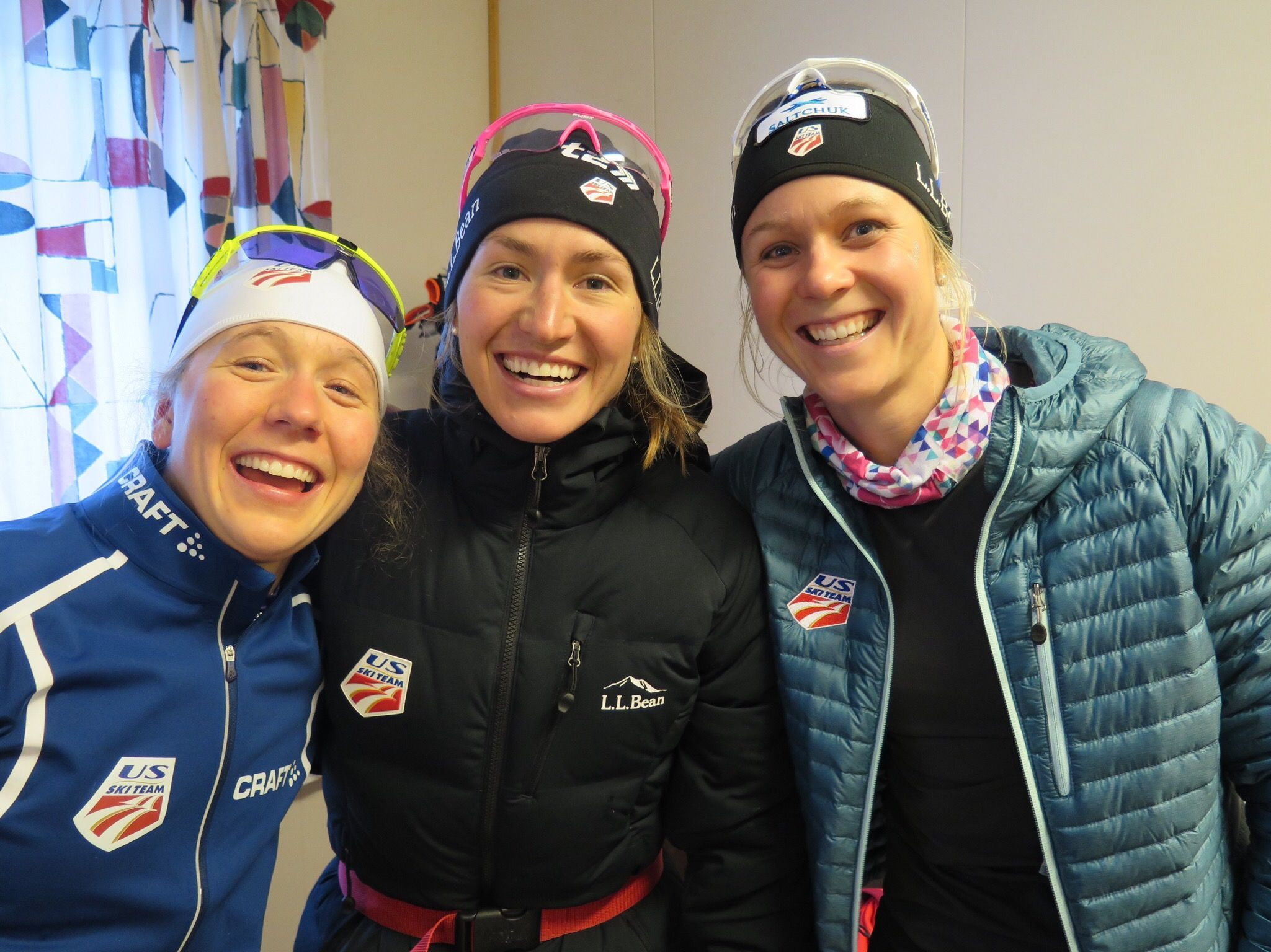 A smiley crew after finishing that race! (Lilly Caldwell photo)