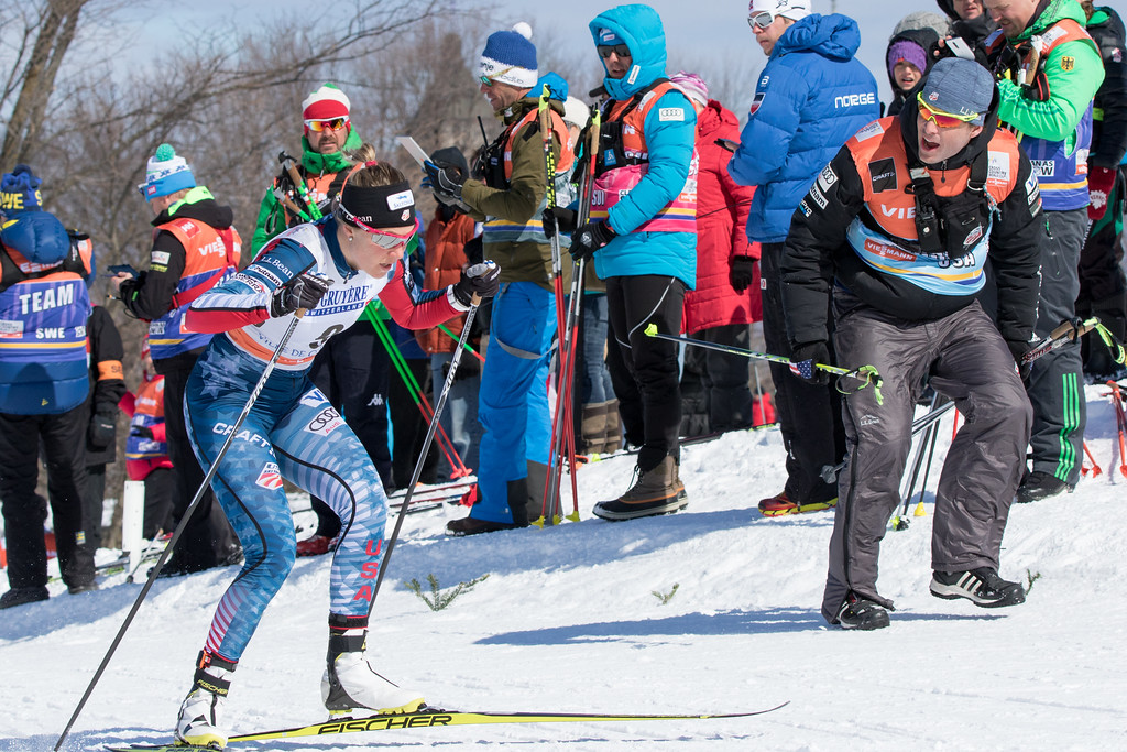 Special thanks to this incredible person, Matt Whitcomb! Thanks for fearlessly leading our team, and always reminding us of the true goals in life! Behind every ski racer is a person, and Matt has always valued that person over the ski racer. (Reese Brown photo)