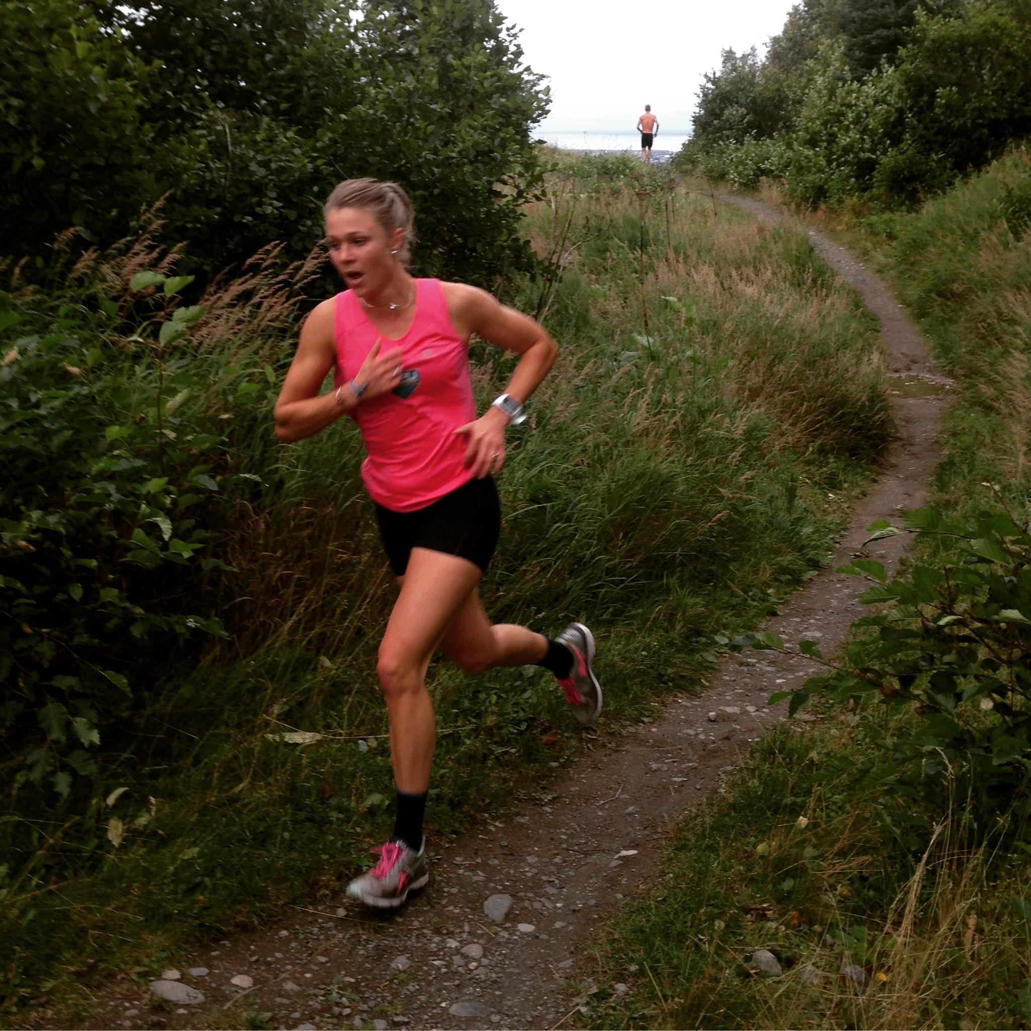 Yeah for uphill running!