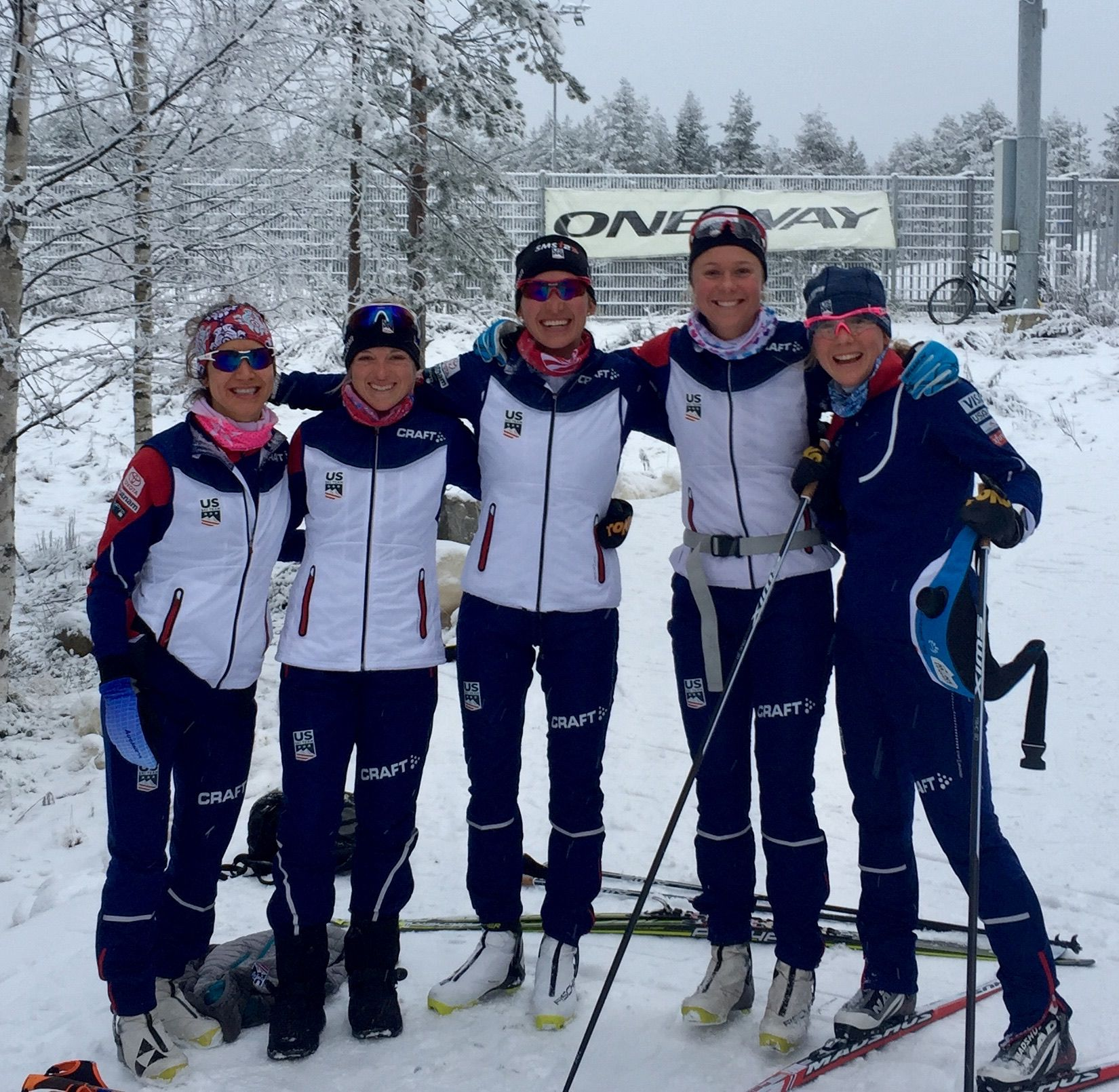 Dream Team in Rovaniemi.