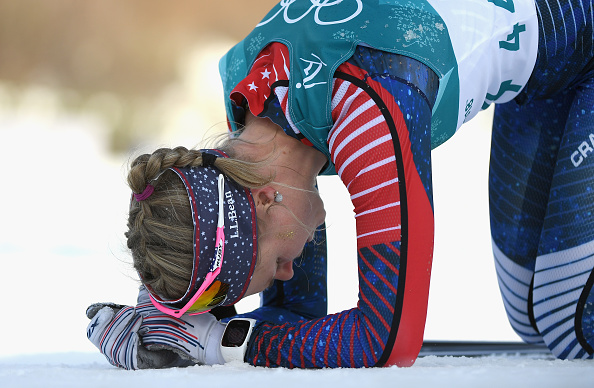 "Once you cross that finish line, the question you have to ask, ""Did I do the best I could today?"" (Getty Images)"