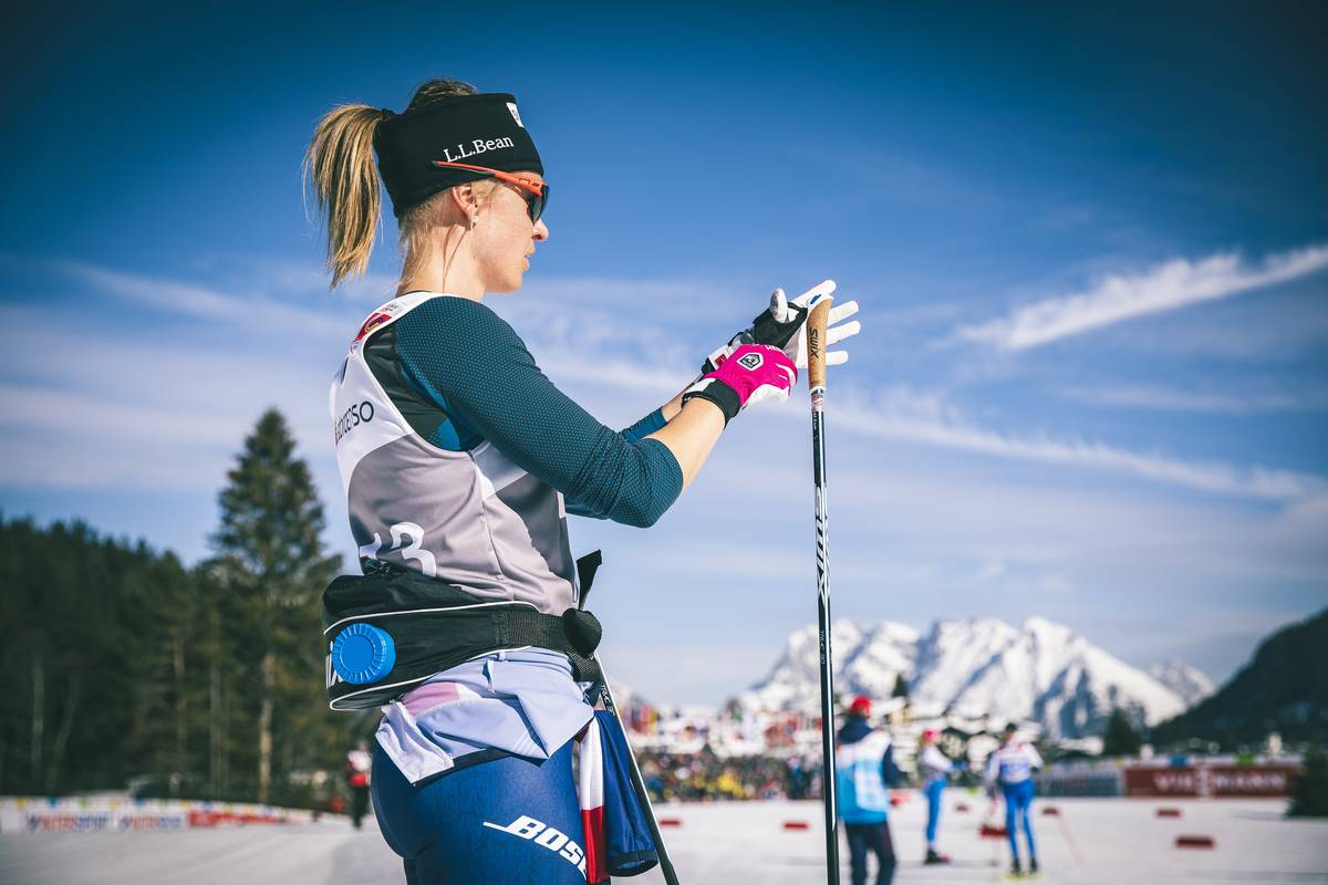 Recovery day goals: drink a ton, eat a ton, ski super slow, and stay out of the sun as much as possible. (Nordic Focus photo)