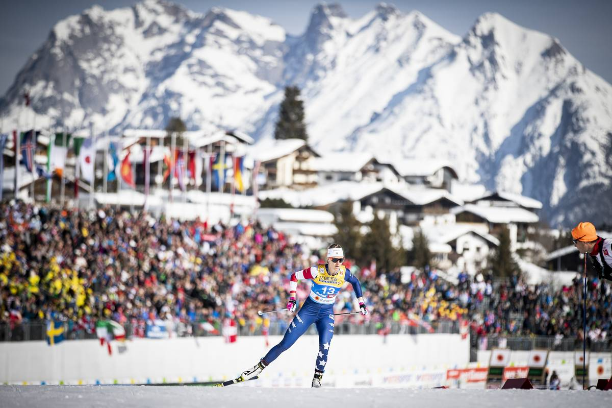 Racing with a view! (Nordic Focus photo)