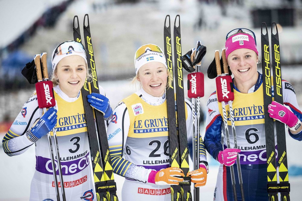 2018 Lillehammer, Norway Skate Sprint- 3rd Place (Nordic Focus photo)