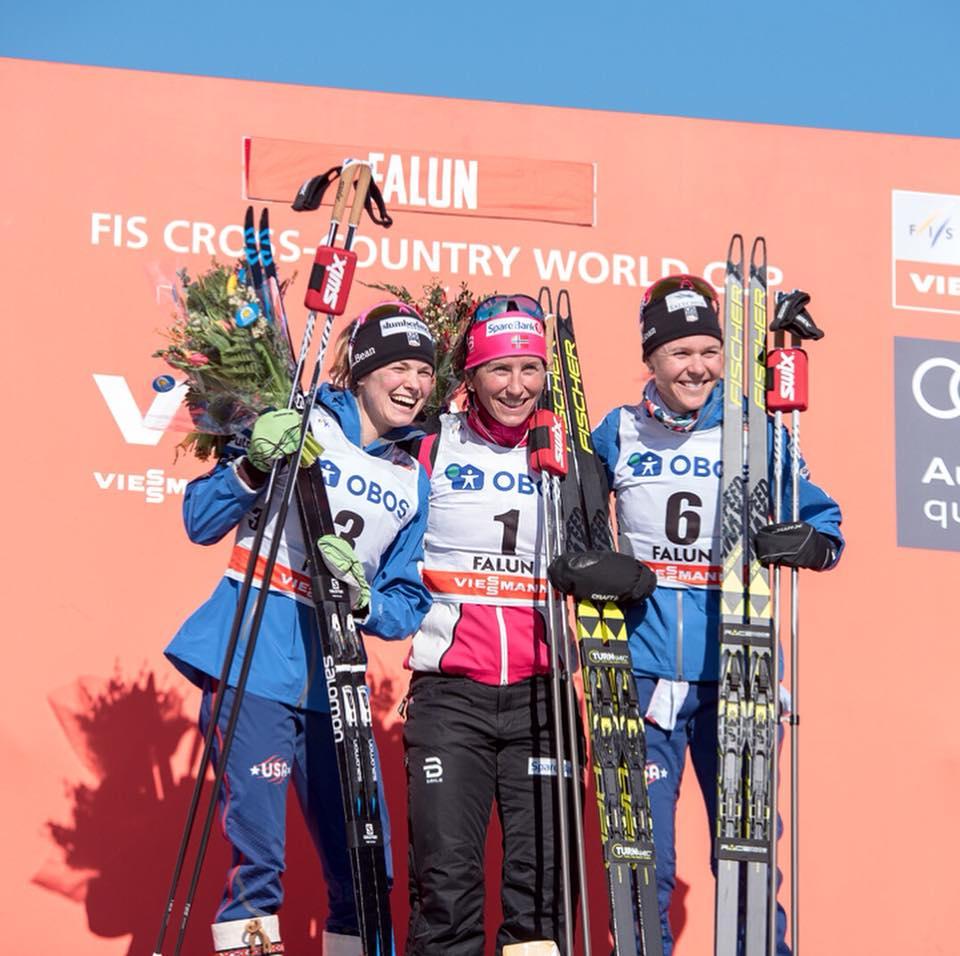 2018 World Cup 10k Skate Bronze- Falun, Sweden (Mathias Eriksson photo)