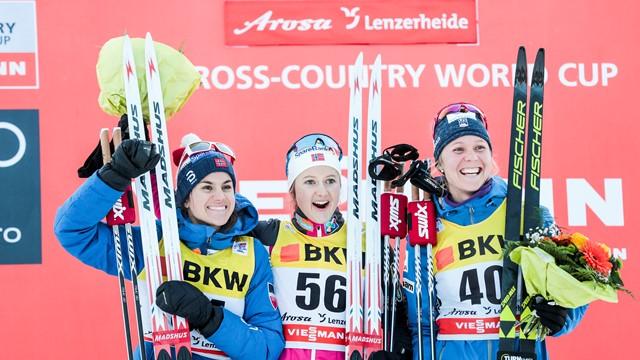 2018 World Cup 10k Classic Bronze- Lenzerheide, Switzerland (FIS photo)