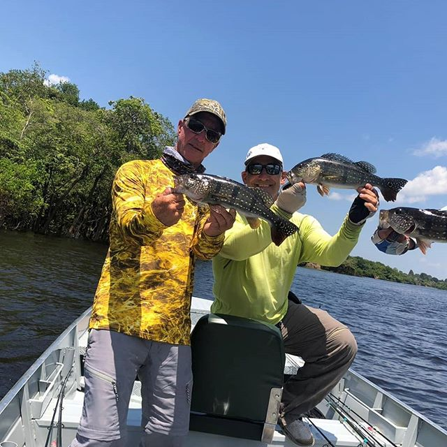 Amazon Prime Ecolodge.  We wana thanks Mr Bred Feller to come to our lodge and fish with us.. That was a great adventure and Mr Cap Mike Merritt is with us.. Contac us and make you reservation. Fishing tours and Ecotours .  #amazon #junglelodge #hoteldeselva #natureza #jungletour #ecotours #hoteldeselva