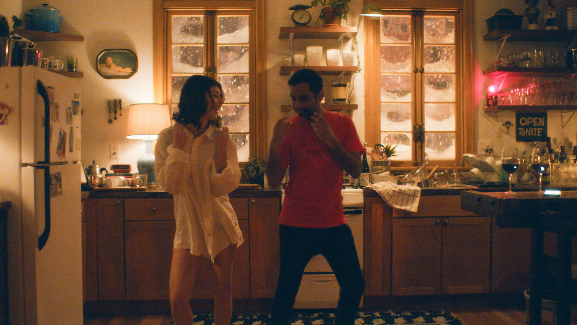 Cuties gonna cute. A still from  Master of None.