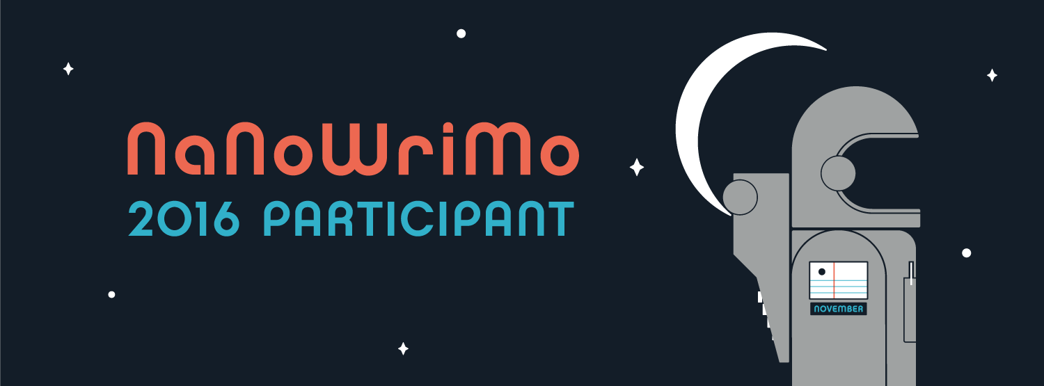 Decided you want to participate in NaNoWriMo? Click the banner above to check out my profile and connect with me! I am always excited to meet new writing buddies. We can conquer this challenge together.