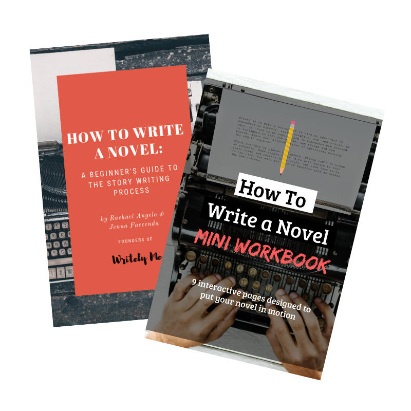 Have you gotten your hands on our How to Write a Novel: A Beginner's Guide to the Story Writing Process duo? - We put together this power duo as a way to introduce you to the basics of writing a novel. This interactive pair will help you lay down the foundation to your story, and get what's in your head down on paper.