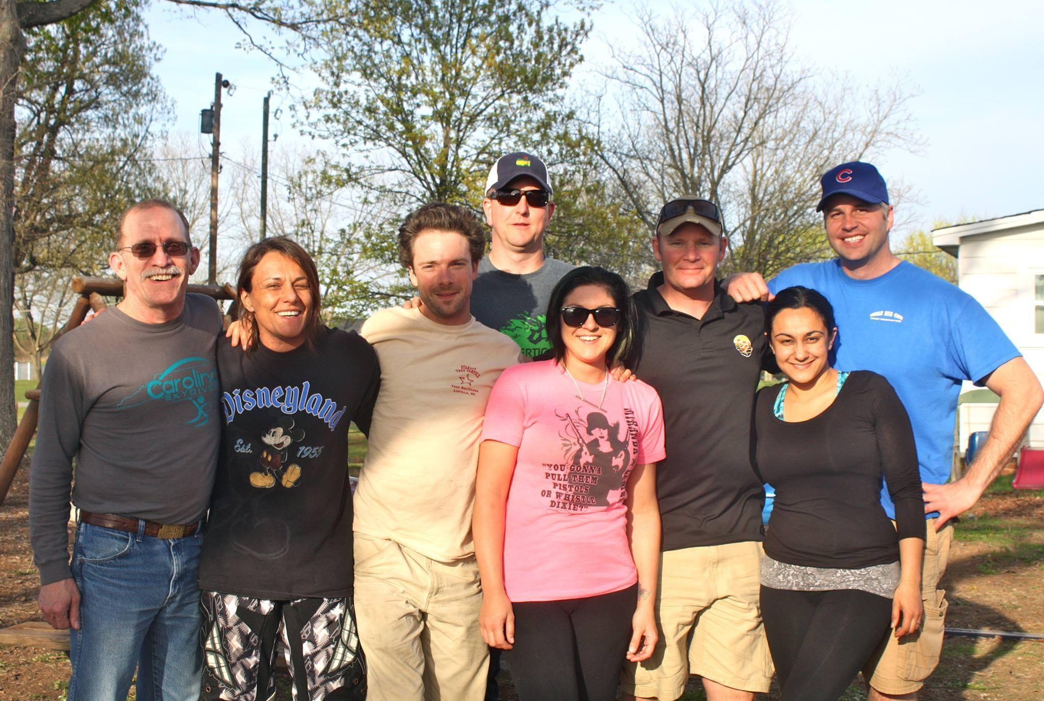 Carolina Skydiving Students