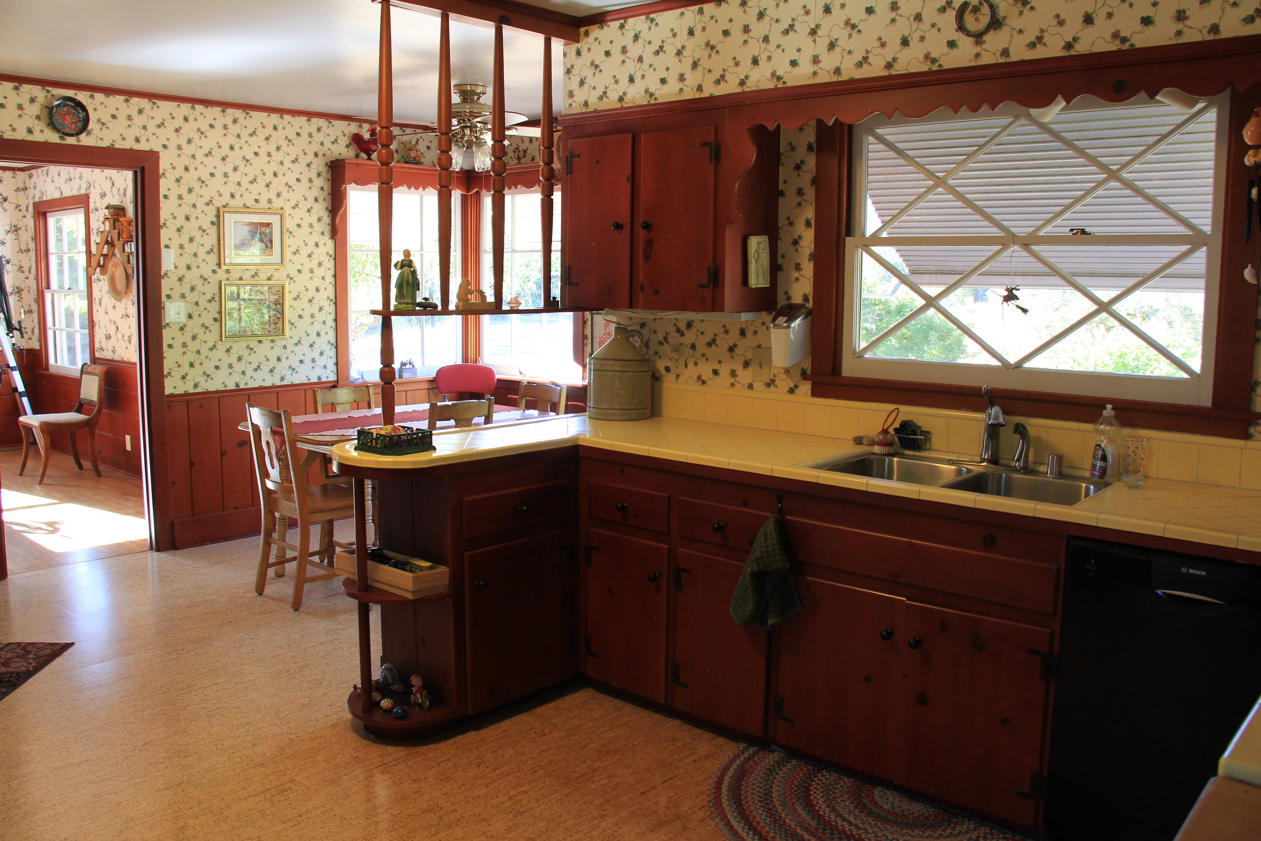 Ranch House kitchen combines retro style with modern convenience