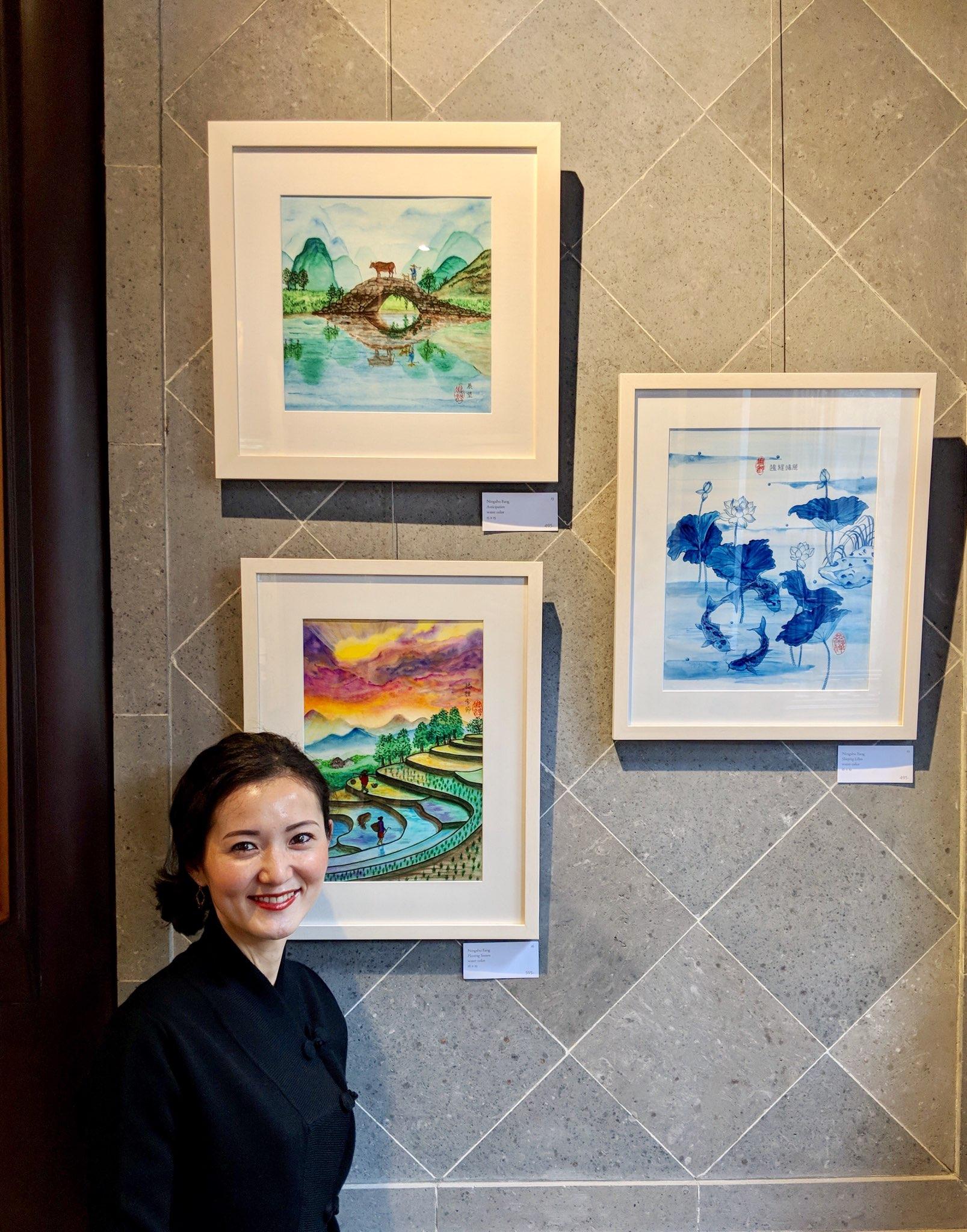 Asia America Resident Artist Ningshu Fang of Shanghai Dragonfly at Lan Su Gardens