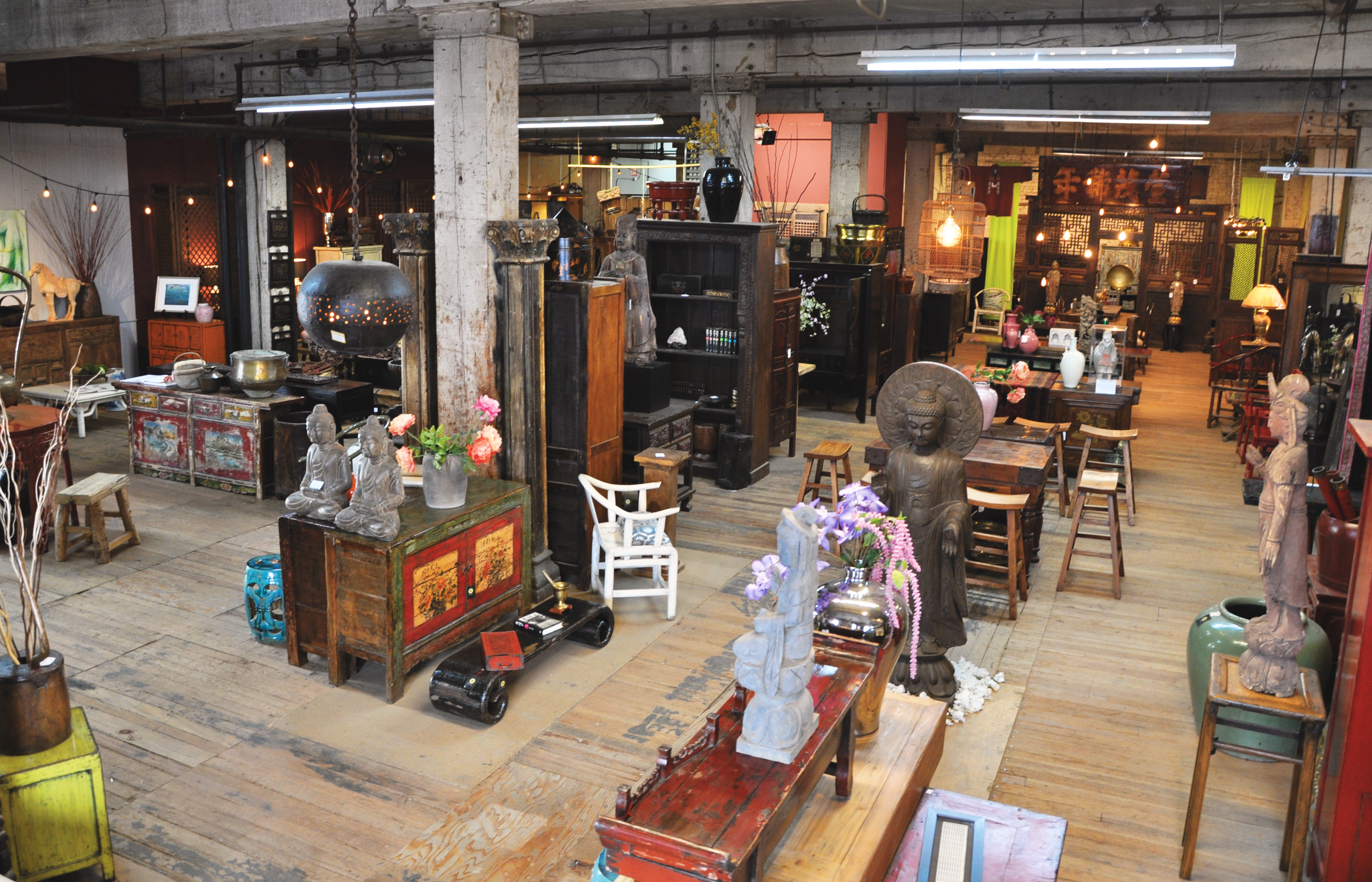 Asia America Furniture and Antiques Warehouse