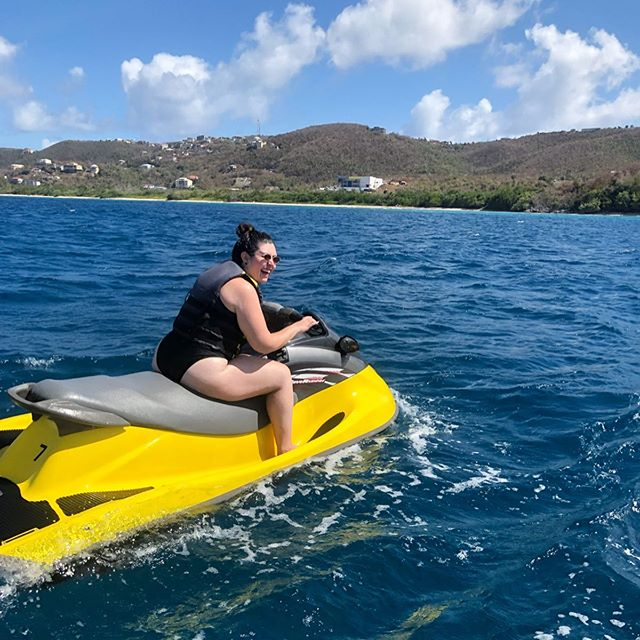 I always say you should try everything at least once to see if you like it or not - Jet skiing; LOVED it!!!!