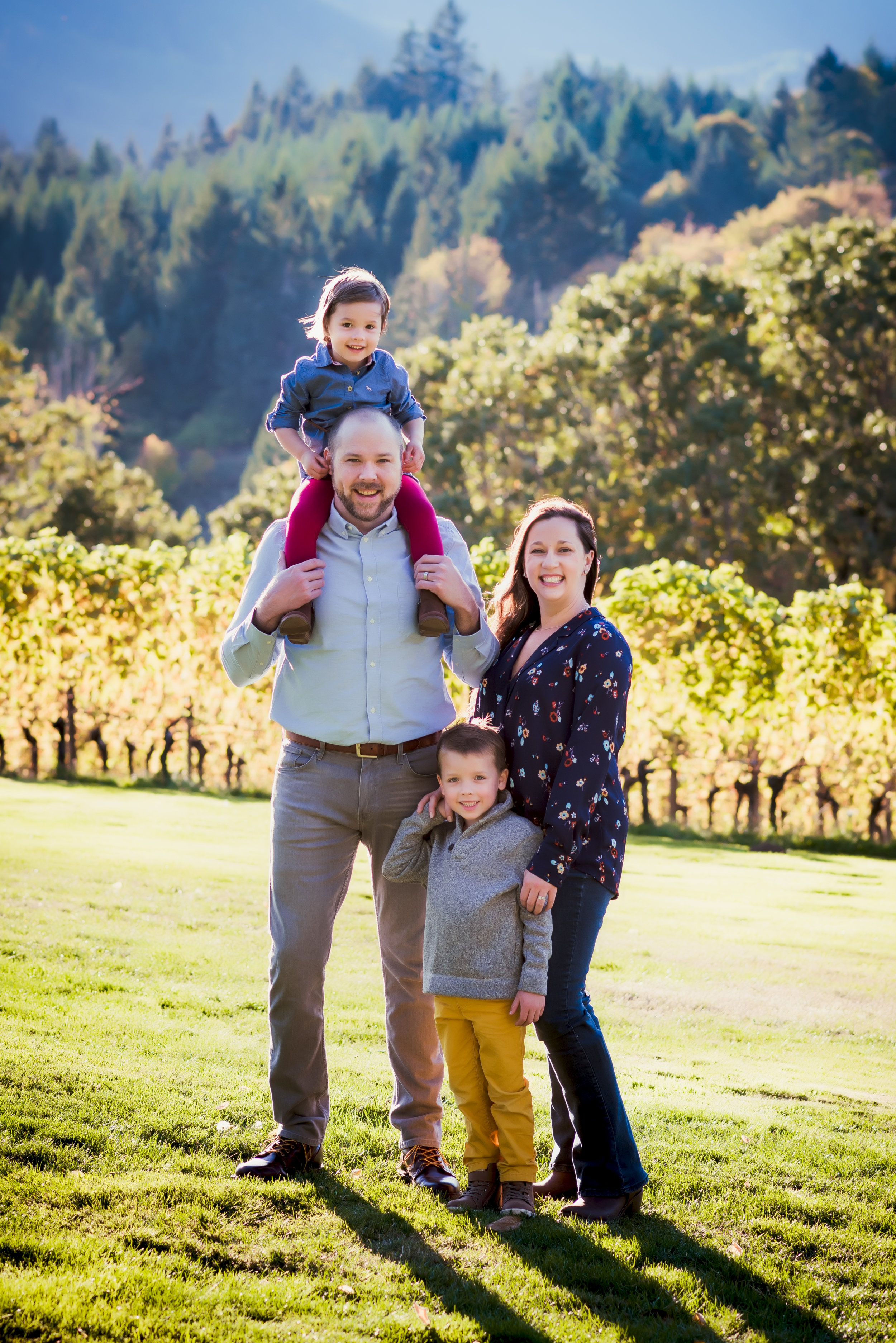 Outdoor Photography by Artistic Bliss Portraits at David Hill Winery Forest Grove, OR