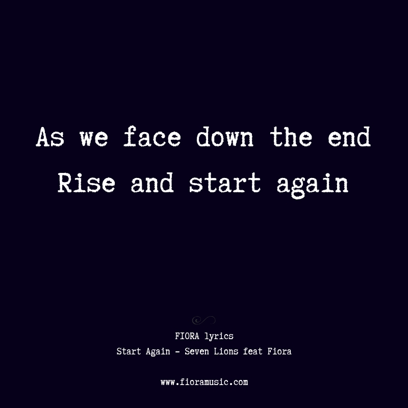 rise and start again lyric fiora.jpg