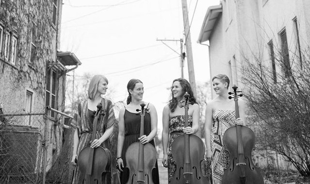 Four female cellists in flowing dresses playing original arrangements of popular songs, from Brittany Spears to Broadway to Bach...you've got to check this out!