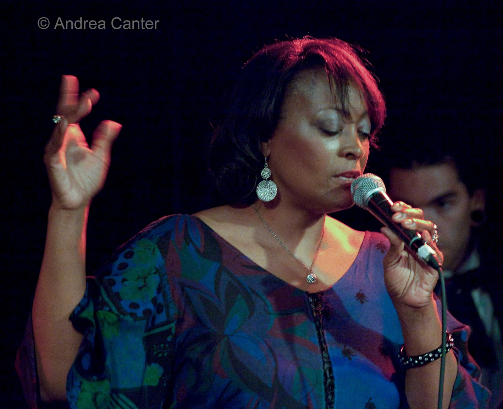 Vocalist Lila Ammons