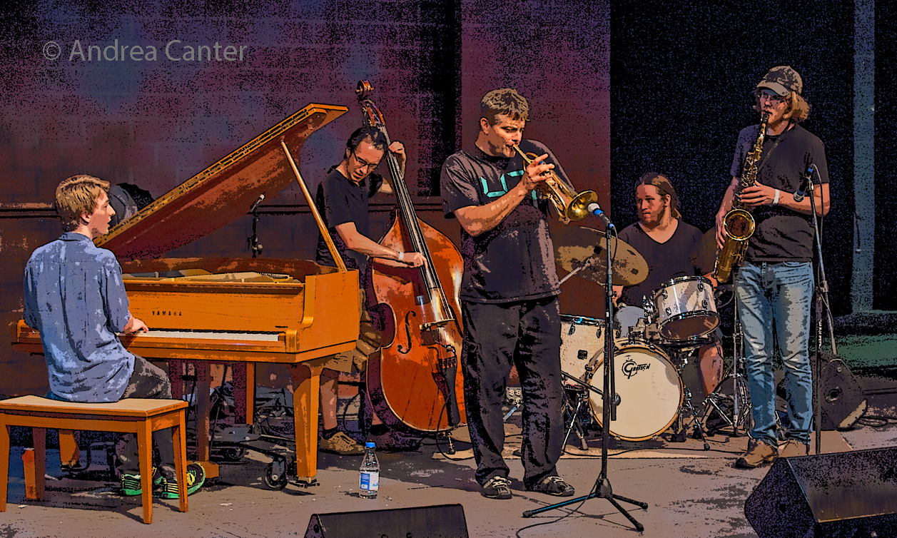 Steve Kenny – Trumpet,  Thomas Strommen – Tenor Sax,    Will Kjeer – Piano,  Adam Tucker – Bass,  Alex Burgess - Drums