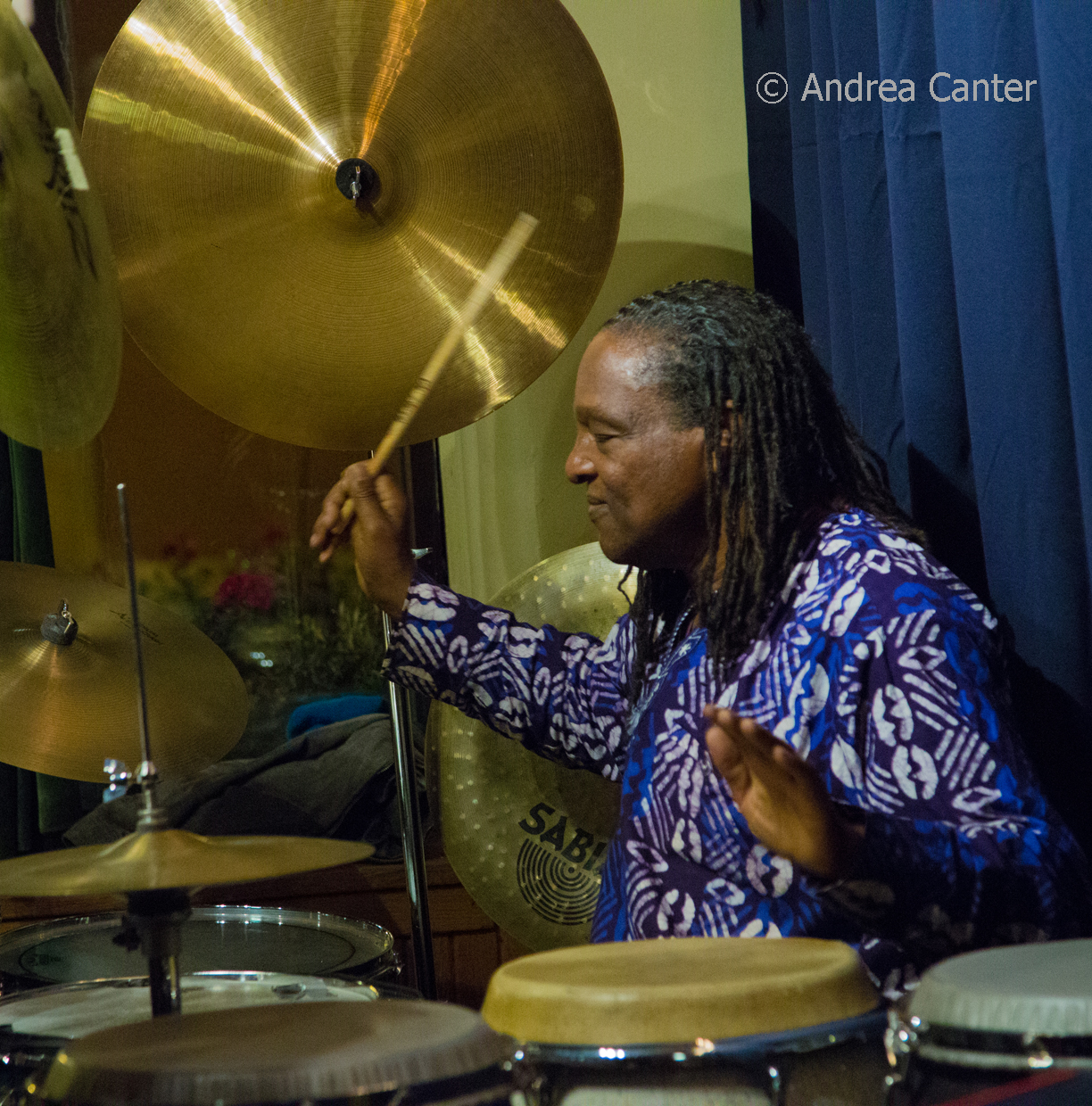 Babatunde Lea – Congas,  Kevin Washington – Drums,  Omar AbdulKarim – Trumpet,   Kavyesh Kaviraj – Piano,   Graydon Peterson - Bass