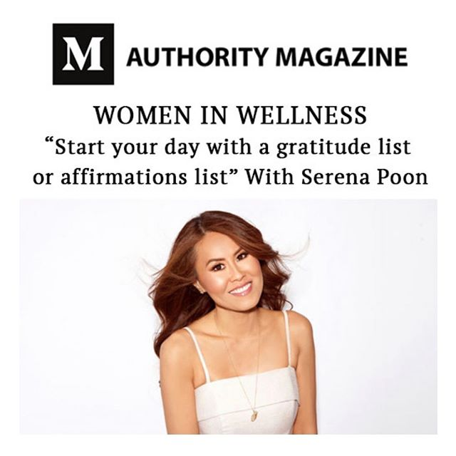 Thank you so much Authority Magazine and @Medium for featuring me in your Women in Wellness series!❤️ I am so honored and grateful for the opportunity to share my story and lifestyle tips🙏🏼 Link in bio for full article.🔗 Would love to know what you think! #SerenaLoves ♥️ #WomenInBusiness 🌟