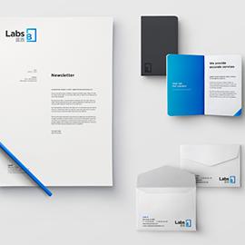 Labs B - Logo, Brand Identity, Templates, Video