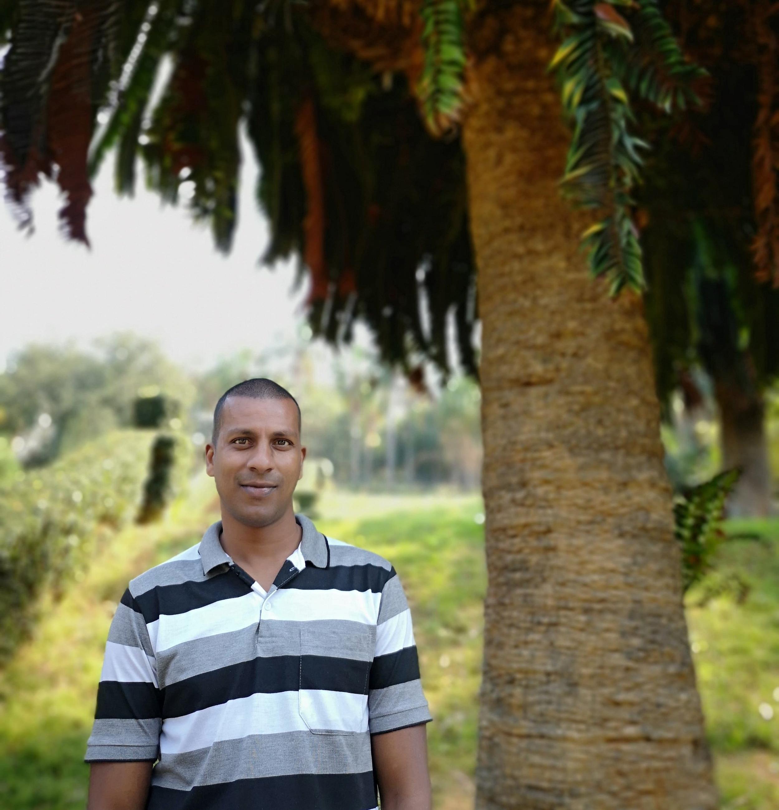 Vishnu Moodley   Specialist at Botanical Gardens